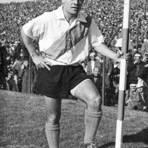 El Mono fue un puntero izquierdo muy hábil y goleador en la década del '50