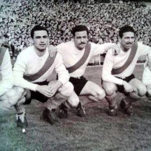 Vernazza, Pizzuti, Gómez, Labruna y Loustau.