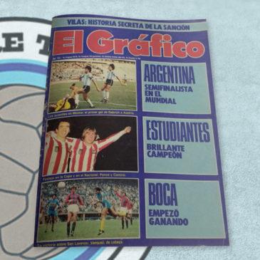 Revista El Gráfico 3323 Argentina Estudiantes Boca