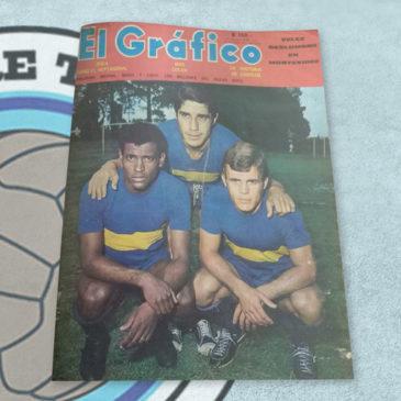 Revista El Gráfico 2574 Boca ganó el heptagonal