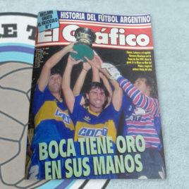 Revista El Gráfico 3721 Boca tiene oro en sus manos