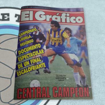 Revista El Gráfico 3526 Central Campeón