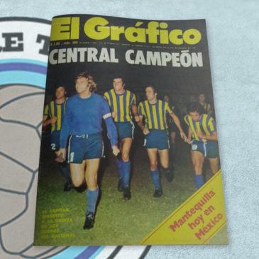 Revista El Gráfico 2830 Central Campeón