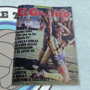 Revista El Gráfico 3104 Central puntero invicto y goleador