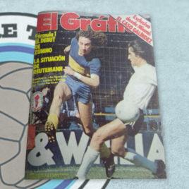 Revista El Gráfico 3130 Randazzo la figura de Boca