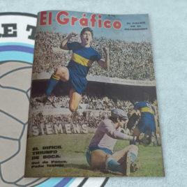 Revista El Gráfico 2611 El difícil triunfo de Boca