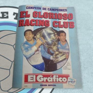 Revista El Gráfico Especial 56 El Glorioso Racing Club