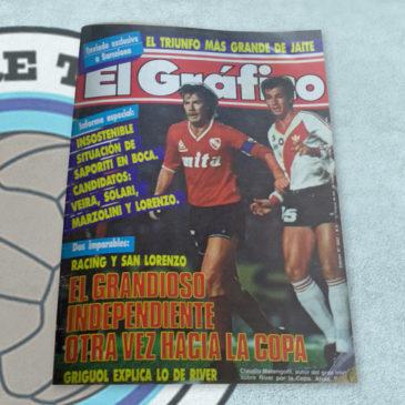 Revista El Gráfico 3547 El grandioso Independiente otra vez hacia la copa