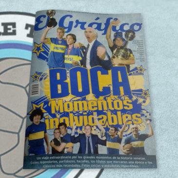 Revista El Gráfico de Colección 37 Boca. Momentos Inolvidables