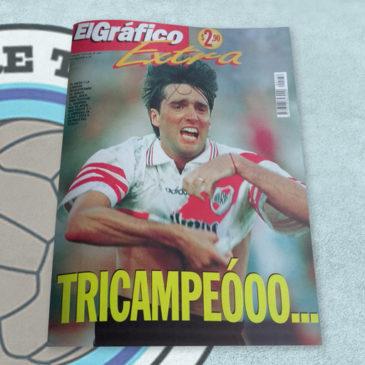 Revista El Gráfico extra 136 River Tricampeóoo…