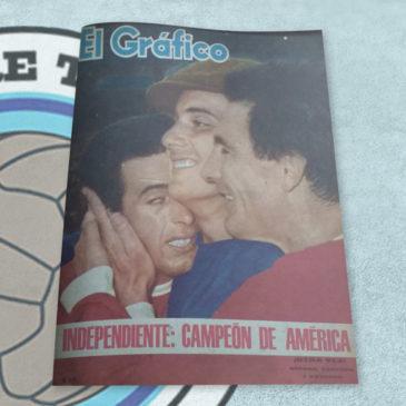Revista El Gráfico 2376 Independiente Campeón de América