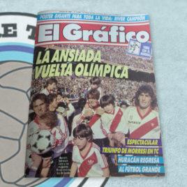 Revista El Gráfico 3685 River la ansiada vuelta olímpica