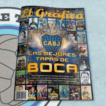 Revista El Gráfico de Colección Las mejores tapas de Boca