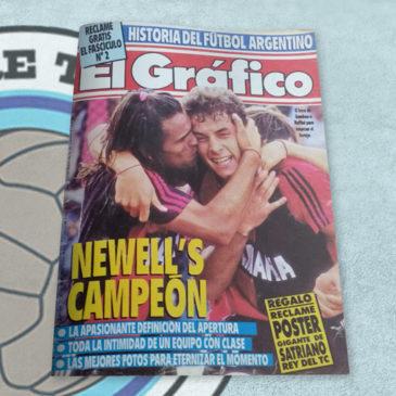 Revista El Gráfico 3716 Newell's Campeón