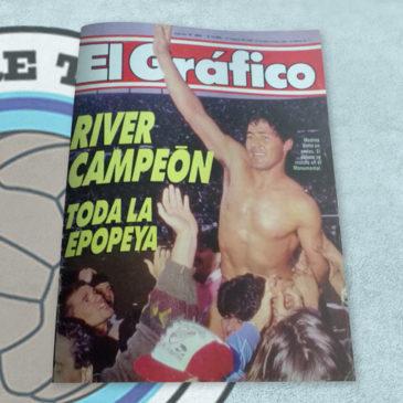 Revista El Gráfico 3684 River Campéon toda la epopeya