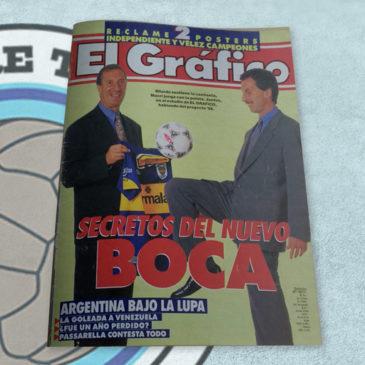 Revista El Gráfico 3977 Secretos del nuevo Boca