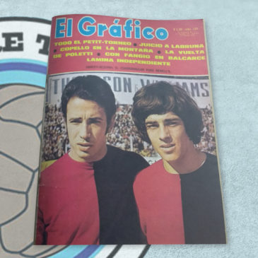 Revista El Gráfico 2652 El cuadrangular para Newell's