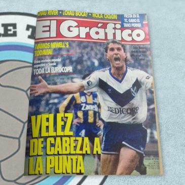 Revista El Gráfico 3793 Vélez de cabeza a la punta