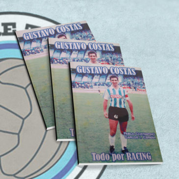 Gustavo Costas. Todo por Racing.