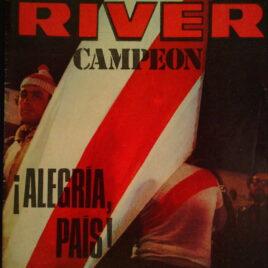 Numero Extraordinario de la Revista River. River Campeón.  Especial dedicado a la doble coronación de River Plate en 1975