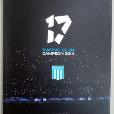 RACING CLUB CAMPEÓN 2014