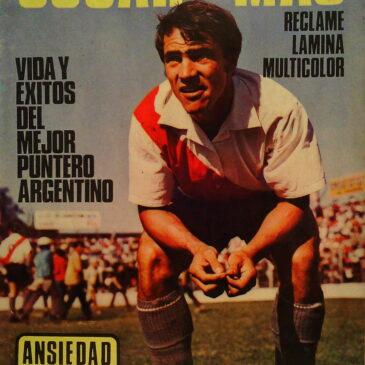 Revista Especial River Plate. Biografía De Oscar Mas