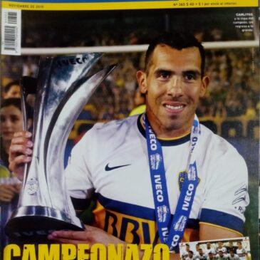 El Gráfico. Edición Especial Boca Juniors Campeón. Torneo de Primera División 2015.