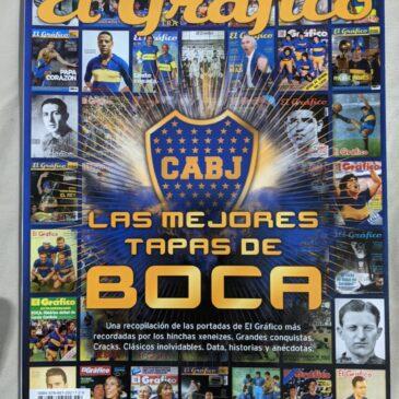 Revista El Gráfico Colección Las Mejores Tapas De Boca