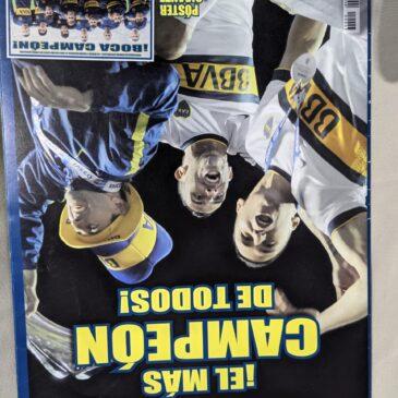 Poster Desplegable Gigante De Boca Campeón 2015
